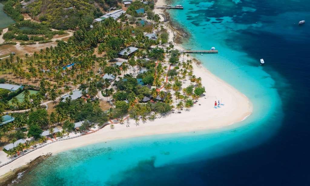 À Palm Island, au sud des Grenadines