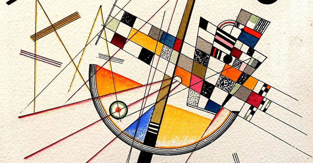 « Delicate Tension » de Wassily Kandinsky. © Daderot - Domaine public
