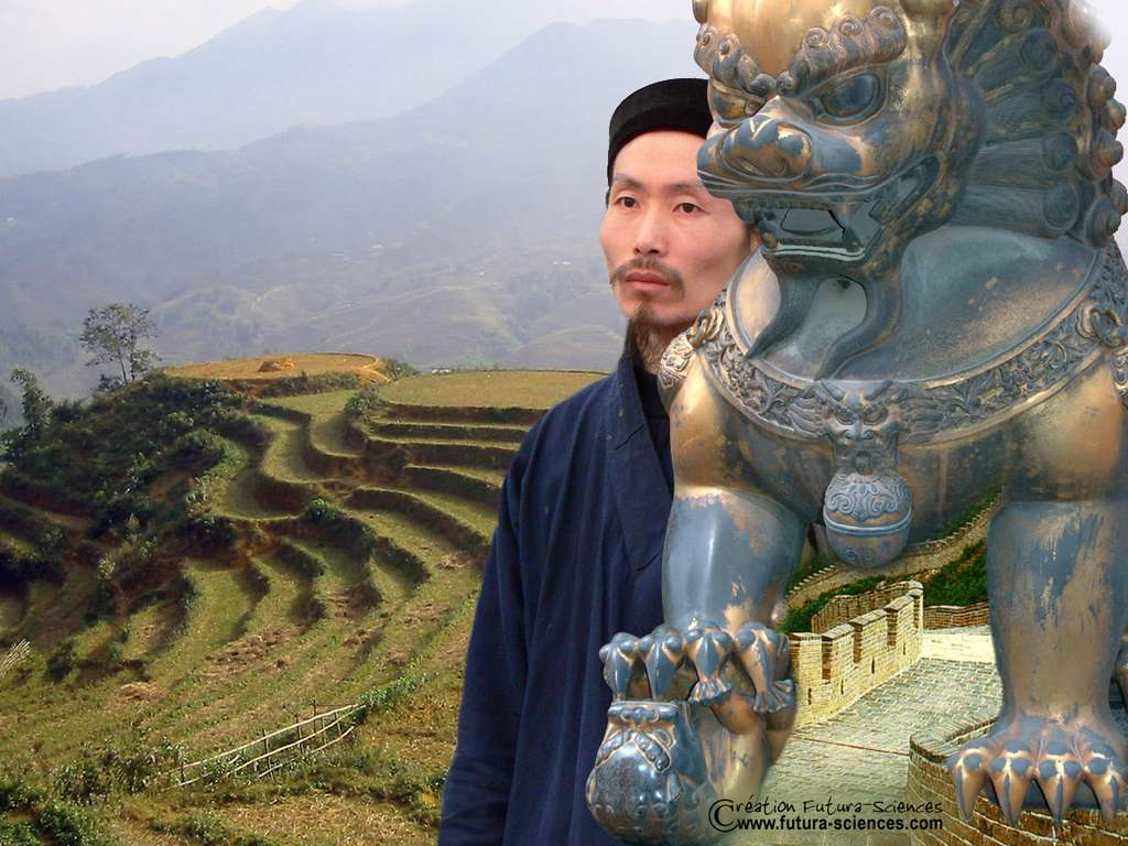 Près de la grande muraille de Chine