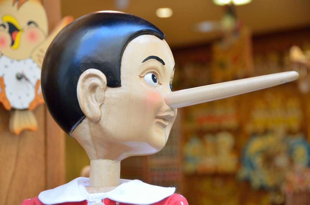 Si tous les menteurs avaient le nez de Pinocchio, la tâche nous serait simplifiée… © Kewl, Flickr, cc by 2.0