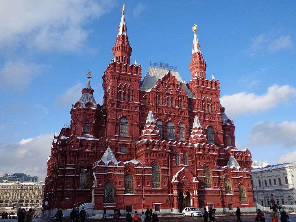 Le musée d'histoire d'État de Moscou © Concierge.2C, Wikimedia Commons, by-sa 3.0