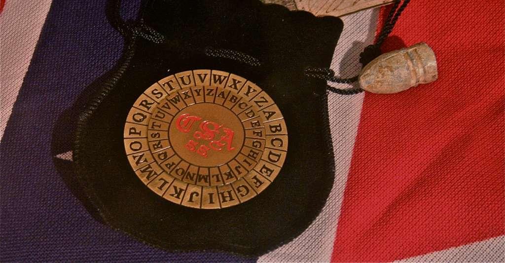 Le disque à chiffrer des Confédérés, utilisé pendant la guerre de Sécession. © RadioFan, Wikimedia Commons, CC by-sa 3.0