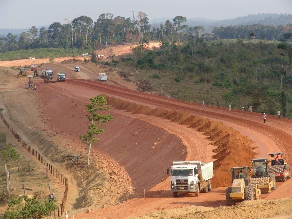 Le barrage de Belo Monte au Brésil aura une puissance de 11.233 MW. Il devrait fournir de l'électricité à 23 millions d'habitants. © minplanpac, Flickr, cc by nc sa 2.0