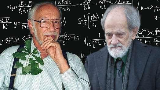 David Gale à gauche et Lloyd Shapley à droite. © Jarssker09, © Bengt Nyman, Wikimedia commons, CC by-sa 3.0