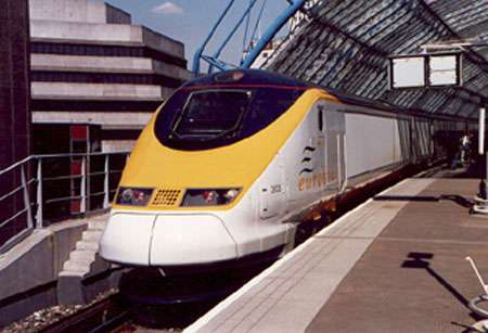 Locomotive Eurostar.
