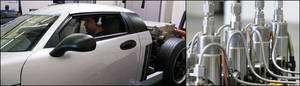 Cliquer pour agrandir. Tests par l'agence américaine de protection de l'environnement (EPA) du véhicule de démonstration équipé de la technologie de Transonic. © Transonic Combustion