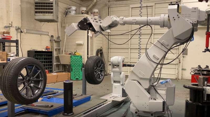 Ce robot changera-t-il vos pneus dans un avenir proche ? © RoboTire