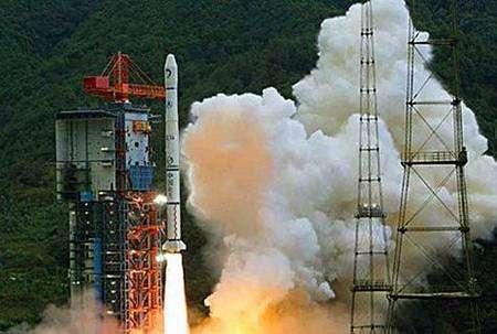 Le lancement de la mission Chang'e-1. Crédit agance spatiale chinoise