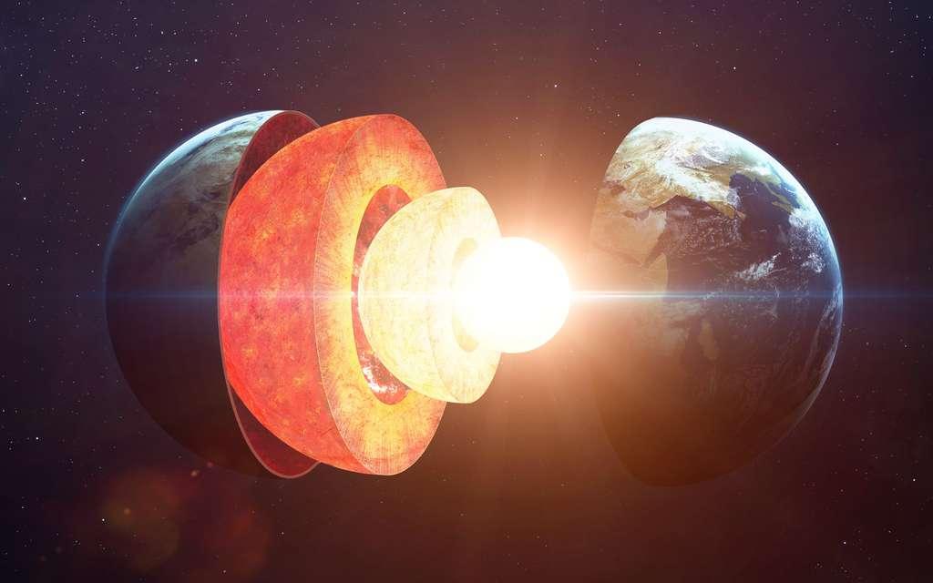 Un noyau sous le manteau : structure de la Terre