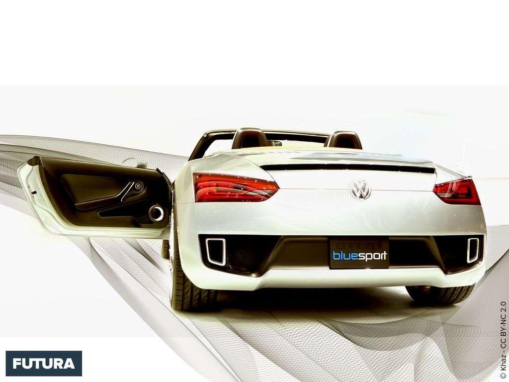 Volkwagen Blue Sport concept car