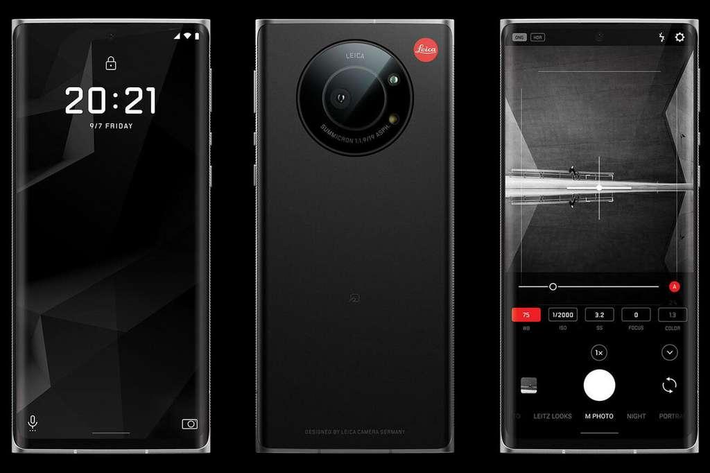 La taille du capteur permet au Leitz Phone 1 de capturer plus de lumière. © Leica