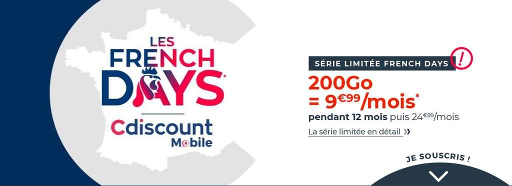Profitez de prix cassés à l'occasion des French Days © Cdiscount Mobile