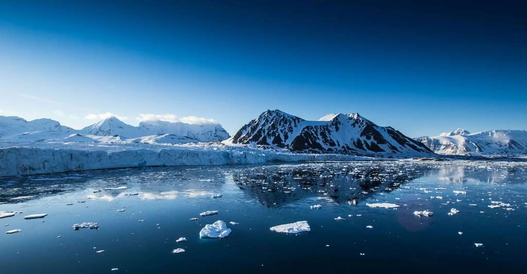 Spitzberg est une île de Norvège située dans le Svalbard. Un certain nombre de découvertes, au Spitzberg, en Alaska, en Sibérie, en Australie, en Antarctique, ont révélé la présence de dinosaures dans des régions qui, au Mésozoïque, se trouvaient au-delà du cercle polaire, ou à proximité. © Kris Grabiec, Shutterstock