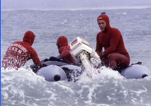 Intervention des sauveteurs en mer. © SNSM