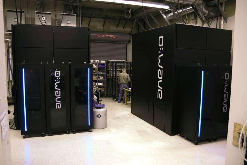 Une vue des calculateurs quantiques de D-Wave Systems au Canada. C'est sur l'un d'entre eux que des informaticiens comme Catherine McGeoch ont fait des tests, pour tenter de déterminer si l'on était bien en présence de calculateurs quantiques capables de battre les ordinateurs classiques. © Amherst College