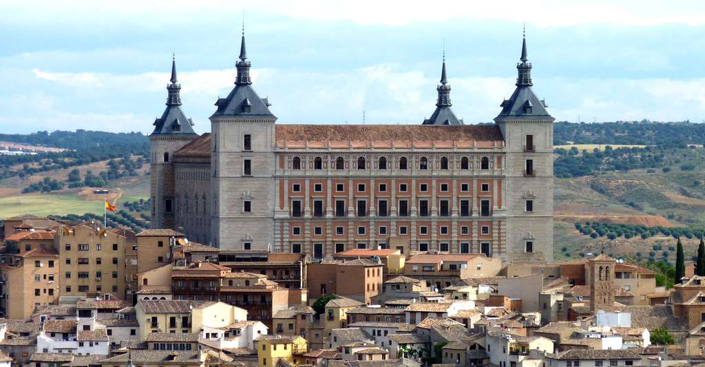 L'Alcázar de Tolède. © Achim-ft, Wikimedia, CC by-sa 3.0 ES