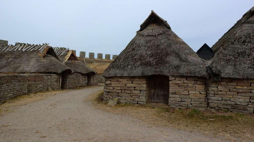 Reconstitution d'un village celte. © Maku Orel, Pixabay, DP