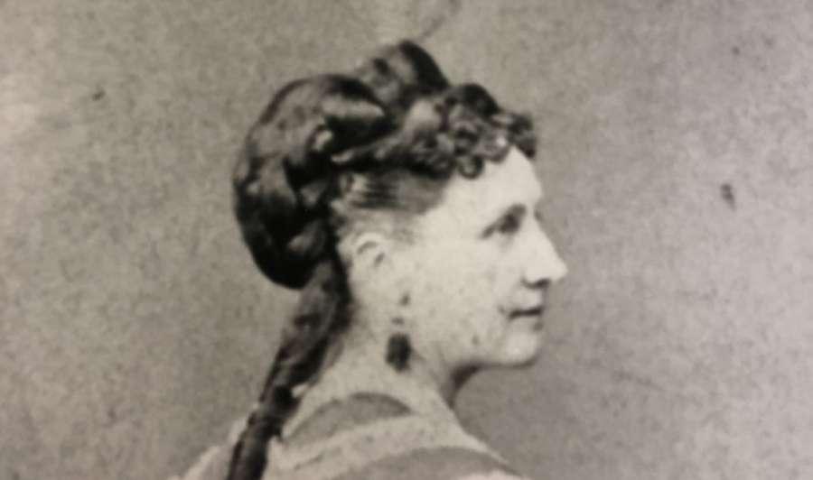 Eunice Foote, pionnière dans les sciences du climat, reconnue tardivement pour ses travaux. © DP