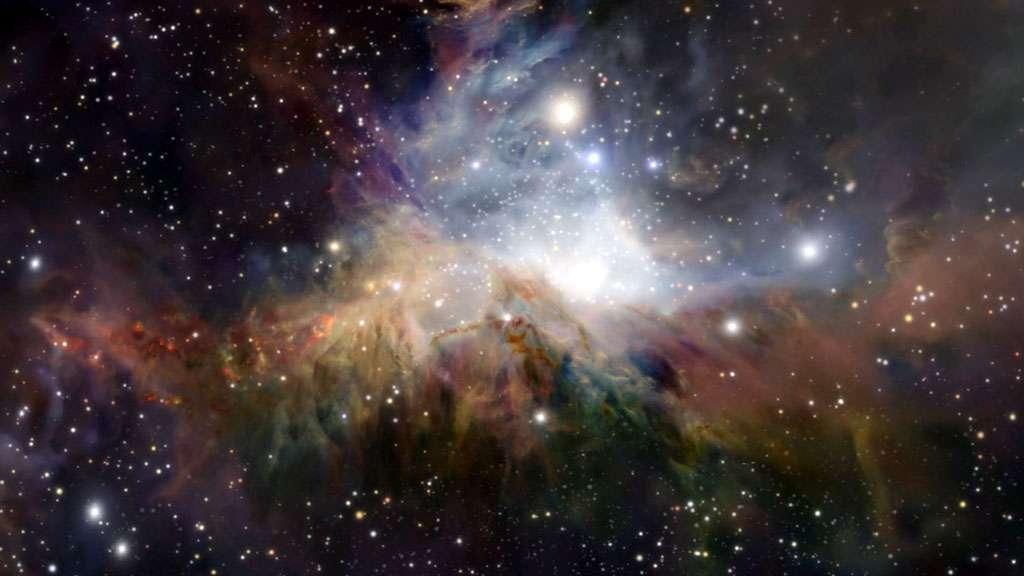Les nuages de gaz et la naissance des étoiles