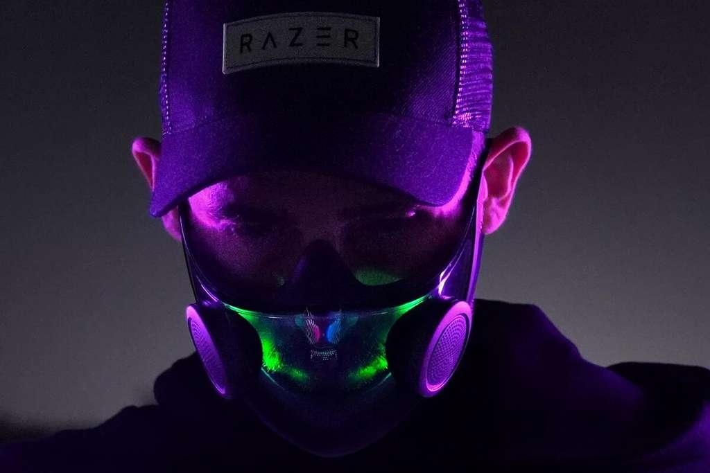Par l'application, on peut choisir de personnaliser les couleurs des LED. © Razer