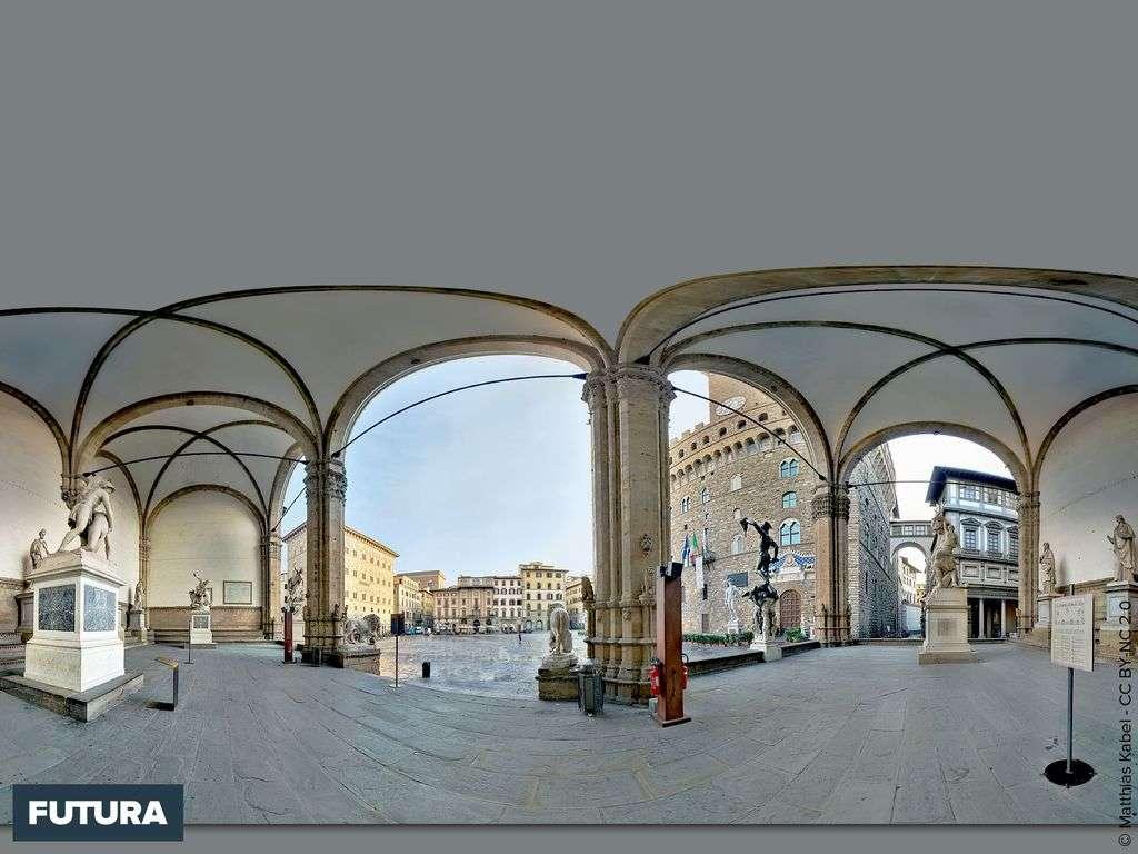 Loggia dei Lanzi Florence - Italie