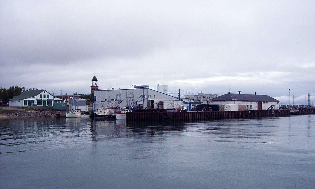Le port de Havre-Saint-Pierre, dans la région de la Côte-Nord. © Stéphane Voyer, cc by sa 1.0
