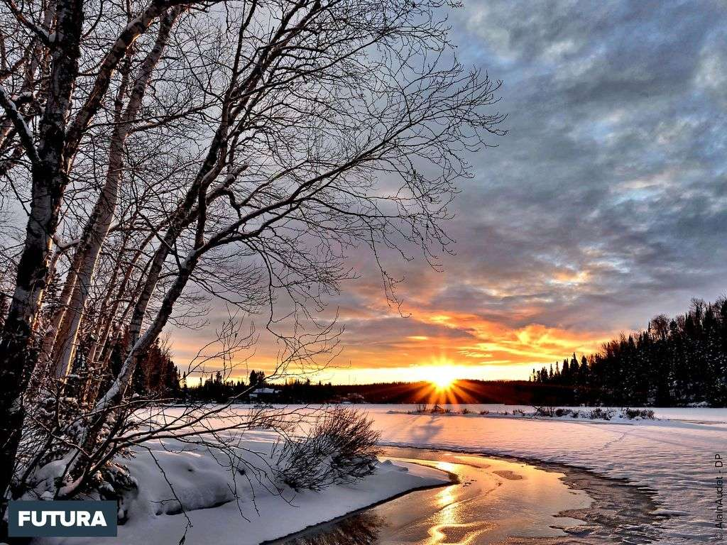 Le bonheur est comme la neige : il est doux, il est pur et... il fond