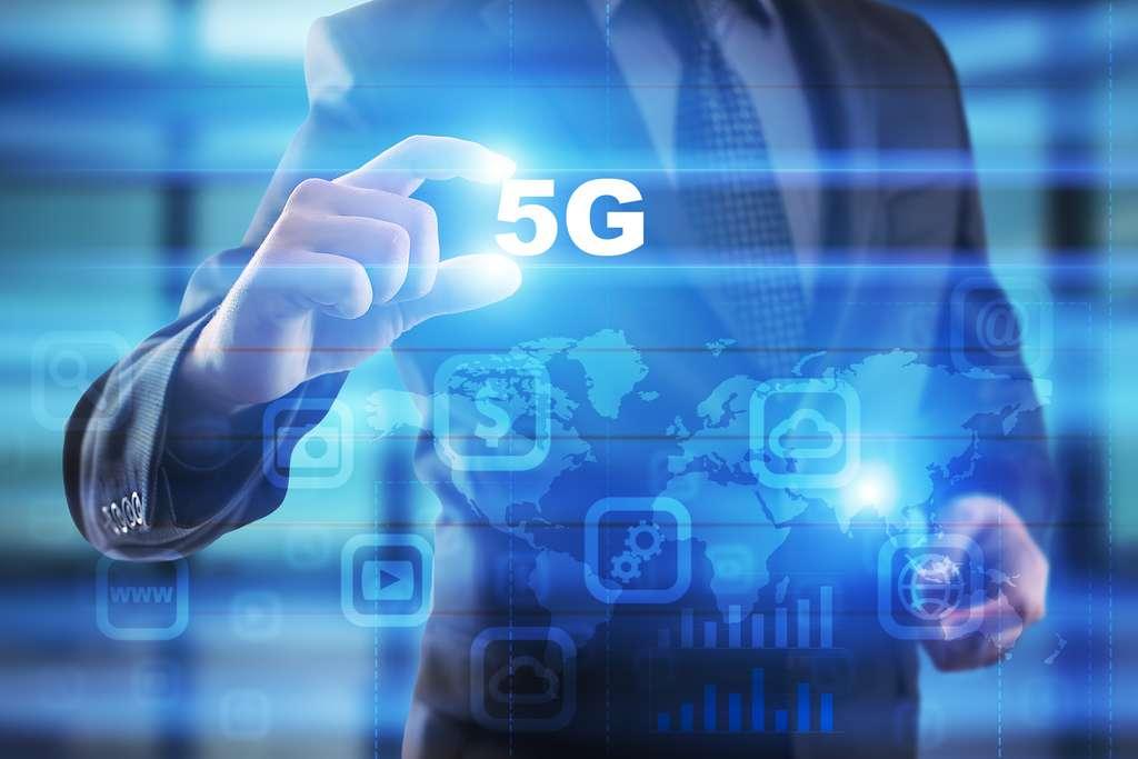 La 5G démultiplie les potentialités de communication, tout en les fiabilisant. © Wrightstudio, Fotolia