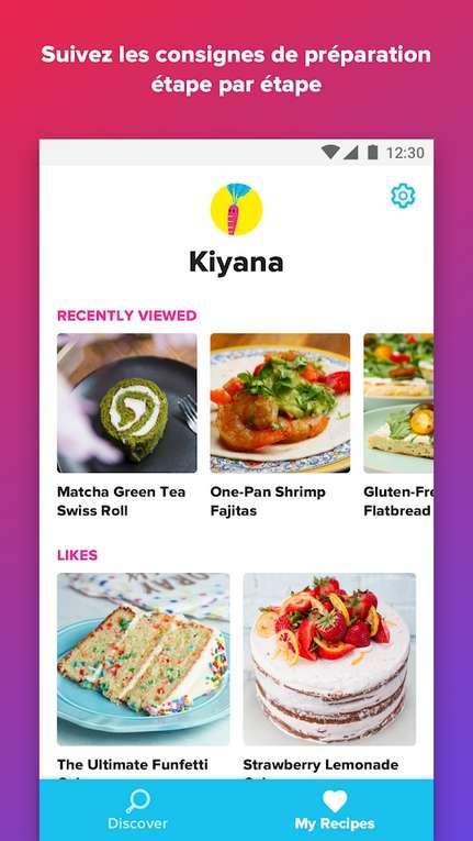 Découvrez des recettes du monde entier avec Tasty ! © BuzzFeed Inc.