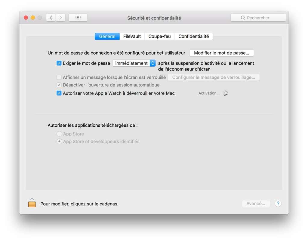 Comment activer Déverrouiller son Mac avec l'Apple Watch ? © Futura