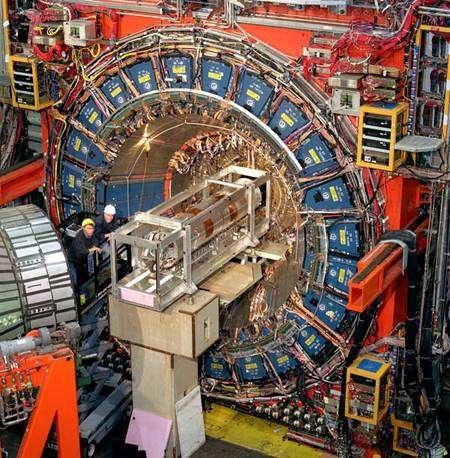Le détecteur CDF. Crédit : Fermilab.