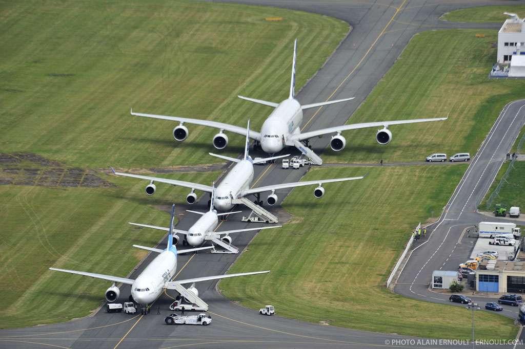 La famille Airbus