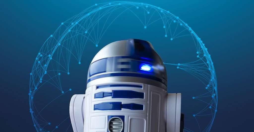 Découvrez la robotique de A à Z. Ici, R2-D2, un des personnages emblématiques de Star Wars. © Stux CCO