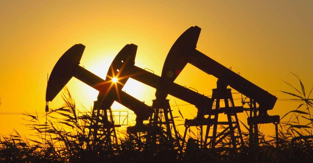 Recherche de pétrole. © Huyangshu, Shutterstock