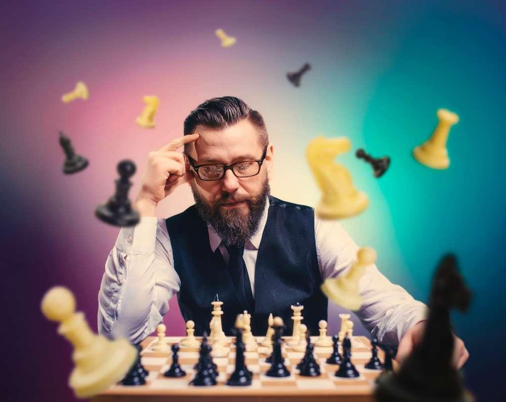 L'échiquier physique peut perturber la phase de calcul des joueurs. © Nomad_Soul, Adobe Stock