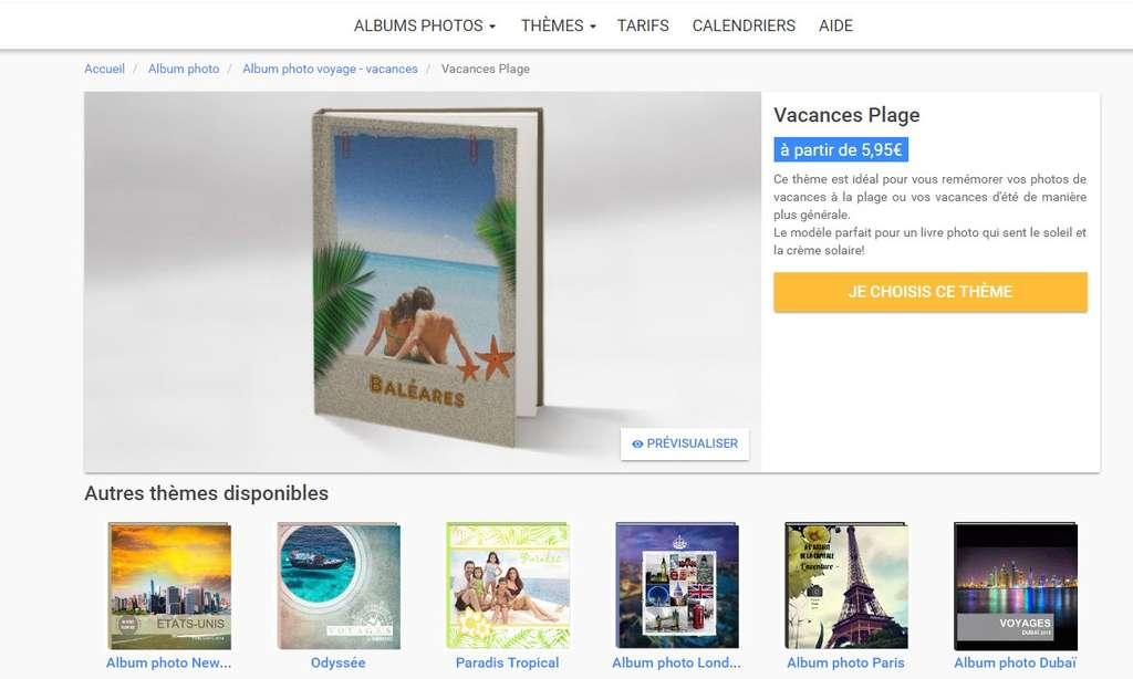 Il existe un large choix de livres photo de voyage dont la mise en page est adaptée à la visite de grandes villes (Londres, New York, Paris, Venise…) ou au style de vacances (plages, tropiques…). © Futura