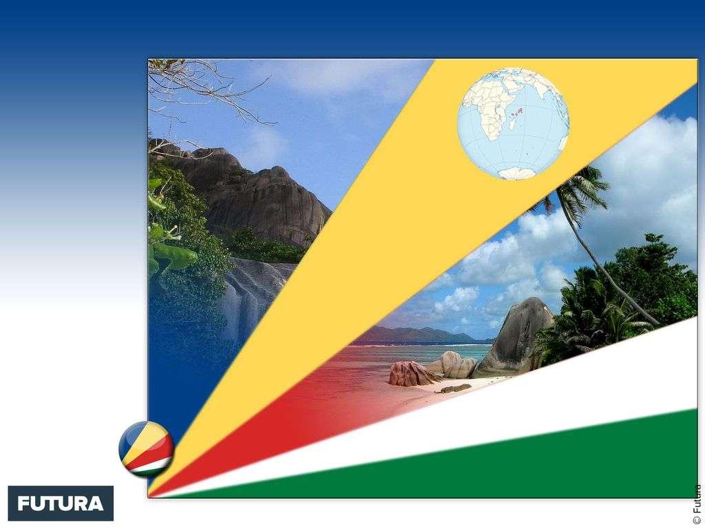 Drapeau : Seychelles