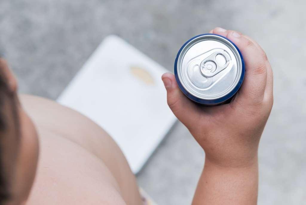 La consommation de boissons sucrées augmente le risque d'obésité et de diabète de type 2. © kwanchai.c, Shutterstock