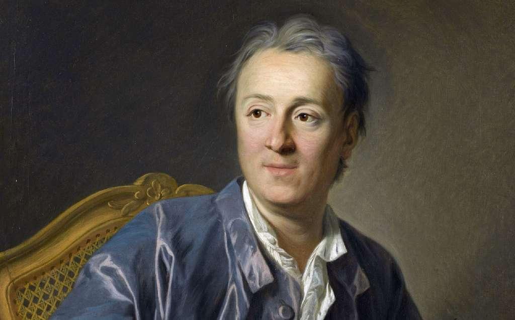 Portrait de Denis Diderot par Louis Michel Van Loo en 1767, musée du Louvre, peintures françaises. © 2004, Musée du Louvre, Angèle Dequier