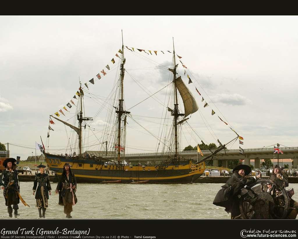 Le Grand Turk, le bateau de la série Hornblower