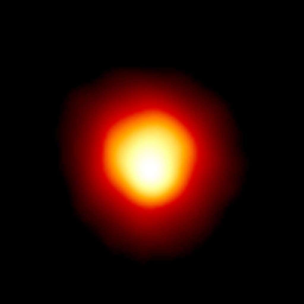 Première image directe d'une autre étoile que le Soleil. Bételgeuse photographiée par Hubble. © Andrea Dupree (Harvard-Smithsonian CfA), Ronald Gilliland (STScI), Nasa, ESA