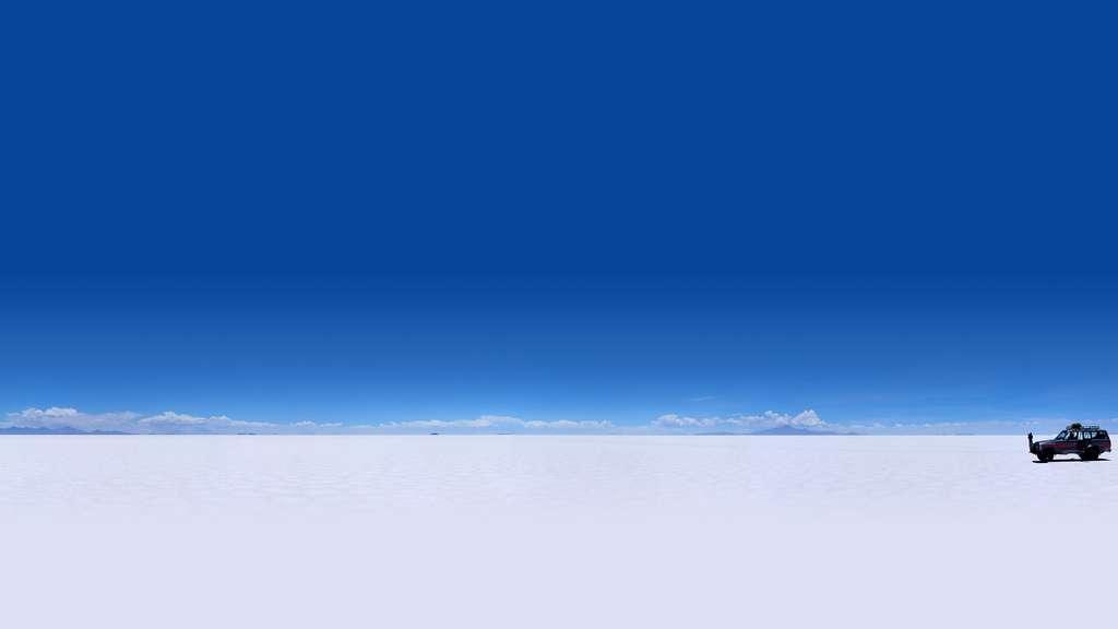 Bolivie, le salar d'Uyuni, le désert de sel bolivien