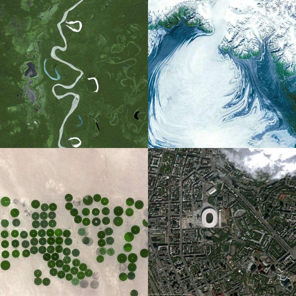 Que ce soit pour des applications civiles liées à l'environnement, l'urbanisme, l'industrie ou à la commercialisation d'images HD, l'observation de précision de la Terre est une économie stratégique en raison de la place prise, dans notre mode de vie, des applications spatiales. © Astrium Services, Spot Image