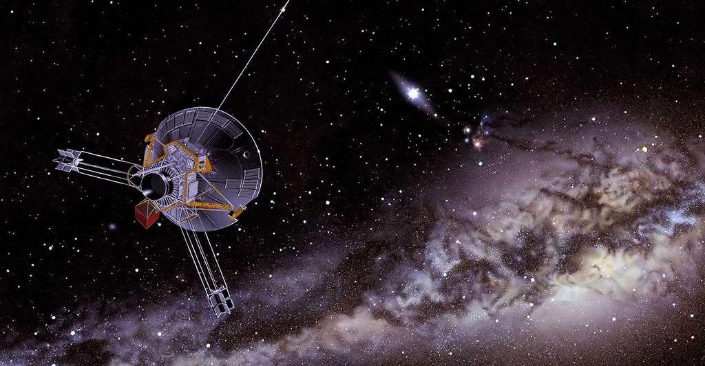 La sonde Pioneer. © Don Davis CCO