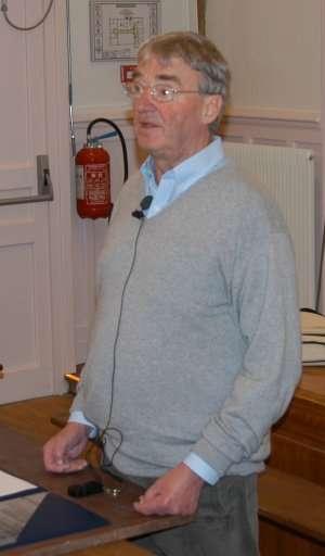 Julius Wess (1934-2007) (Crédit : LPTHE).