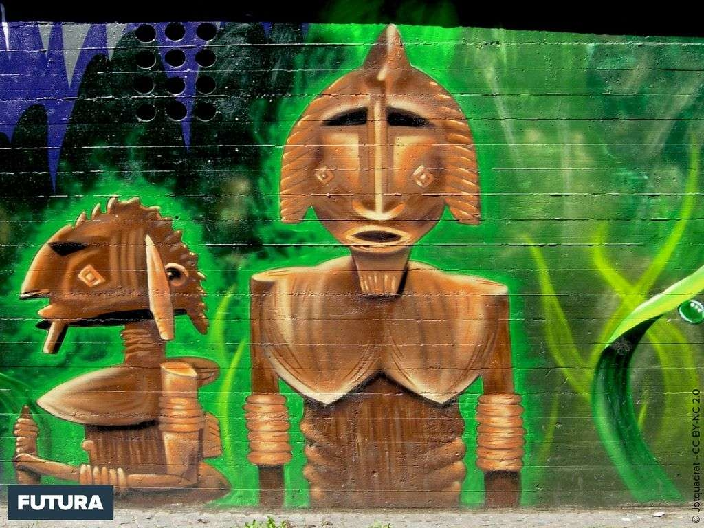 Graffiti ethnique