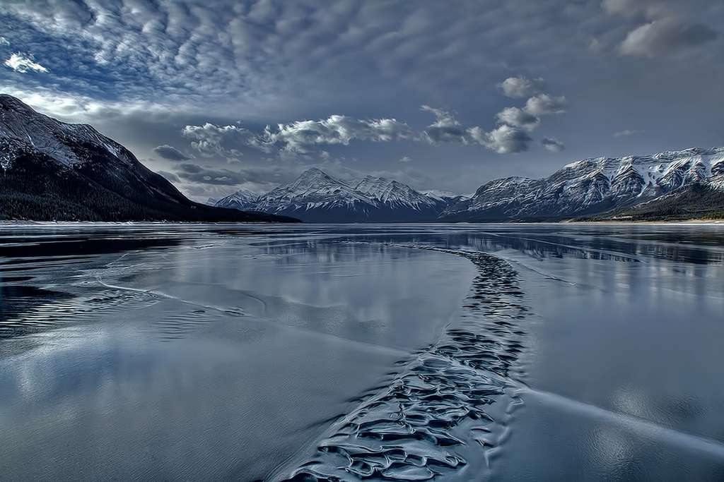 Le lac Abraham