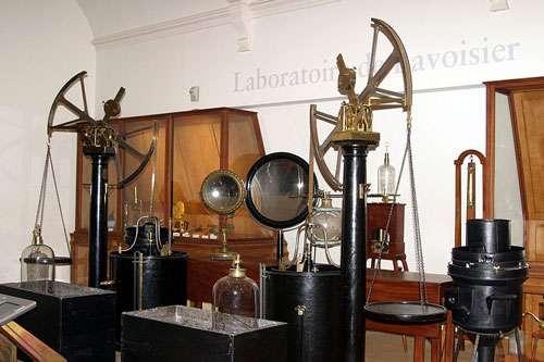 Laboratoire d'Antoine Lavoisier au Musée des arts et métiers. © Rama, cc by sa 2.0