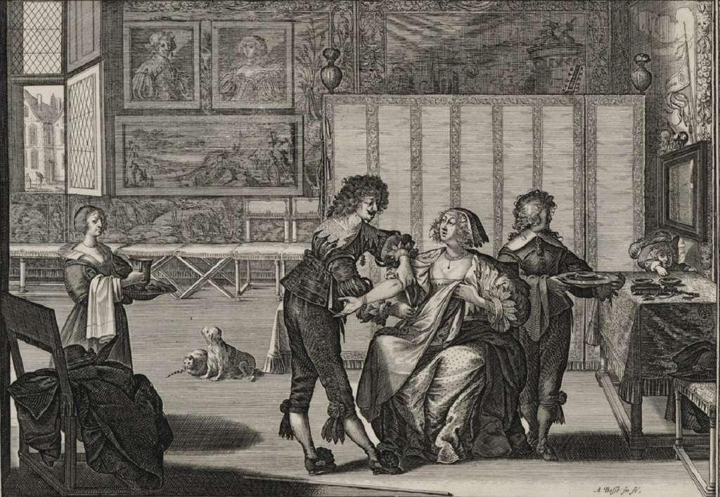 « La saignée », estampe d'Abraham Bosse, vers 1635. Bibliothèque nationale de France. © gallica.bnf.fr, BnF