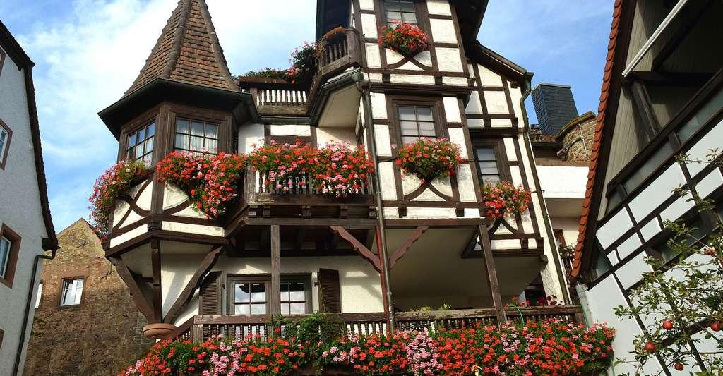 Les balcons d'Alsace. © Psaiko, Pixabay, DP